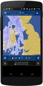 Mobile weather apps for realtime rain and clouds, download